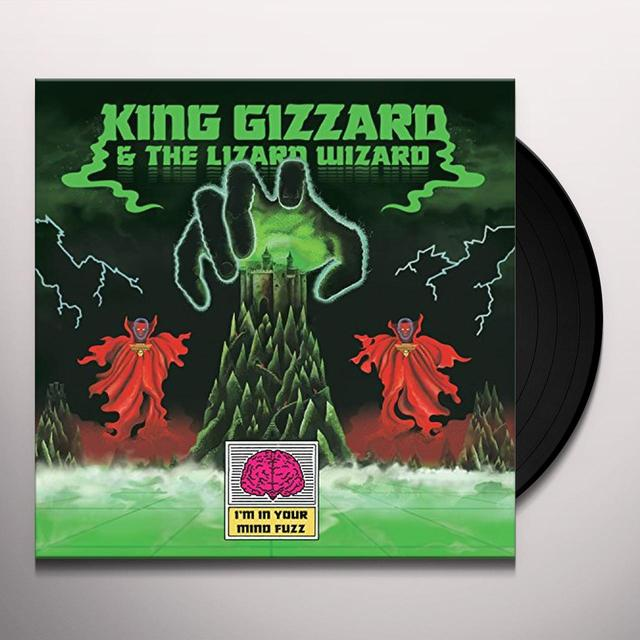 King Gizzard & The Lizard Wizard I'M IN YOUR MIND FUZZ Vinyl Record - UK Release