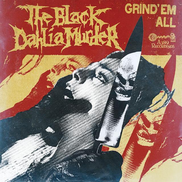 The Black Dahlia Murder GRIND EM ALL Vinyl Record