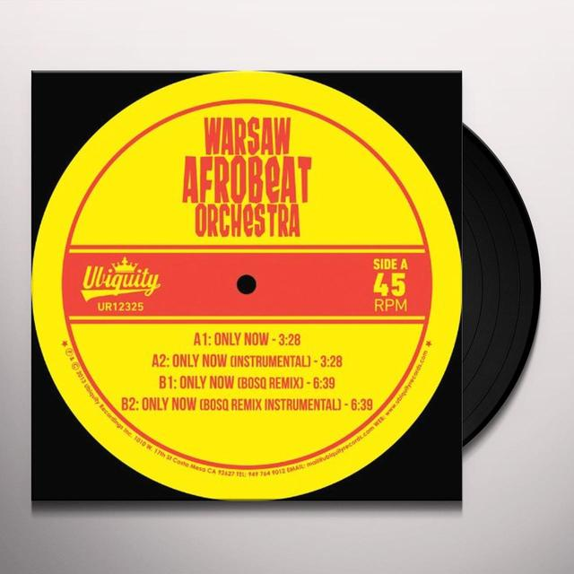 WARSAW AFROBEAT ORCHESTRA / BOSQ ONLY NOW Vinyl Record