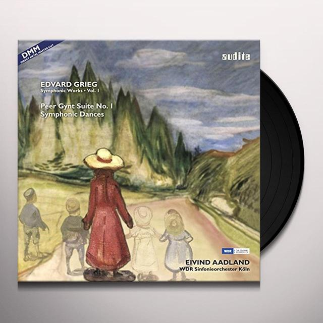 GRIEG / AADLAND / WDR SINF KOELN COMP SYMPHONIC WORKS VOL. 1 Vinyl Record
