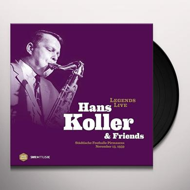 KOLLER / KERN / WARREN LEGENDS LIVE: HANS KOLLER & FRIENDS Vinyl Record