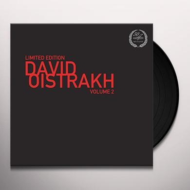 SCHUBERT / BRAHMS LIMITED EDITION-DAVID OISTRAKH VOL. 2 Vinyl Record