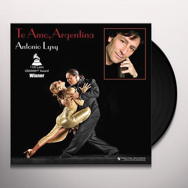 PIAZZOLLA / SCHIFRIN / BRAGATO / GINASTERA TE AMO ARGENTINA Vinyl Record