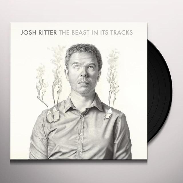 Josh Ritter INTL: THE BEAST IN ITS TRACKS Vinyl Record - w/CD