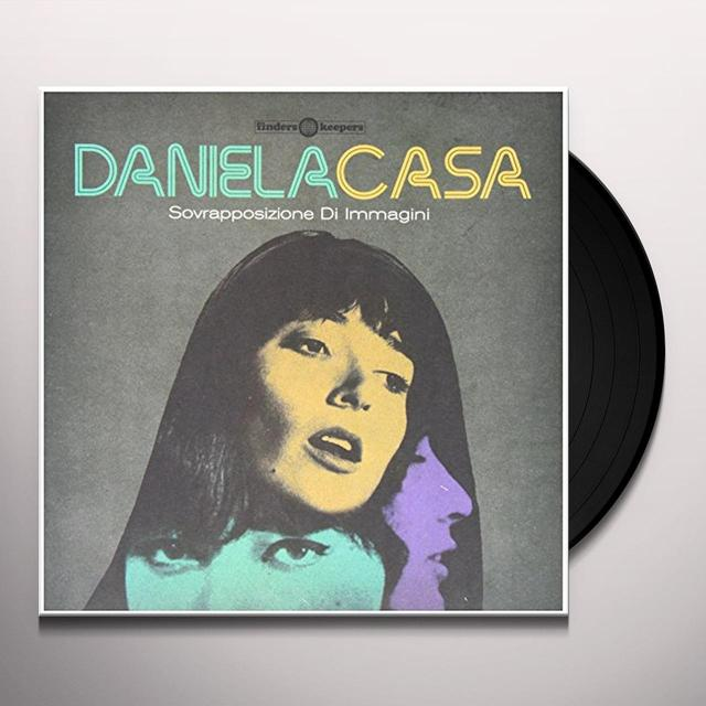 Daniela Casa SOVRAPPOSIZIONE DI IMMAGINI Vinyl Record