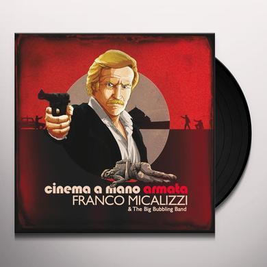Franco Micalizzi CINEMA A MANO ARMATA Vinyl Record