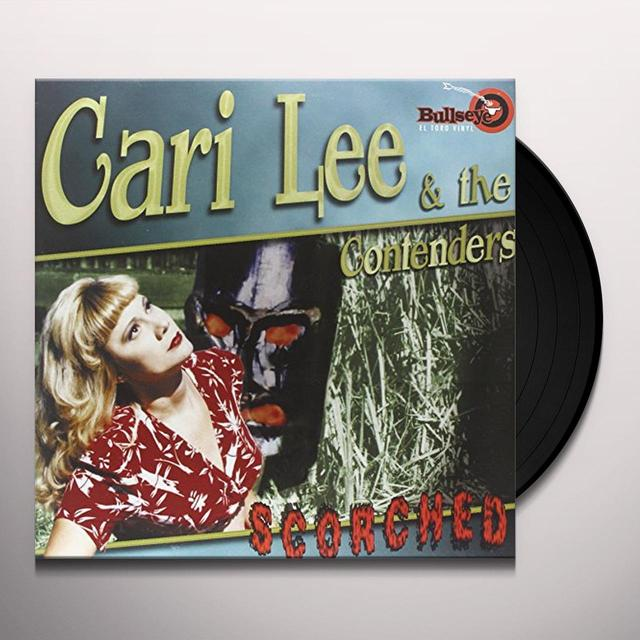 Cari Lee And The Contenders SCORCHED Vinyl Record - Spain Import