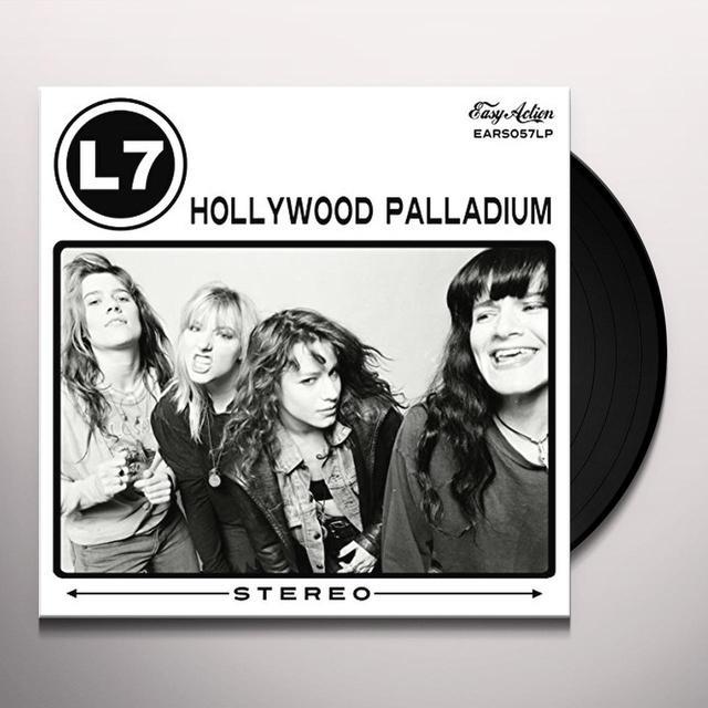 L7 HOLLYWOOD PALLADIUM Vinyl Record - UK Release