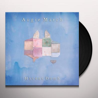 Augie March HAVENS DUMB Vinyl Record