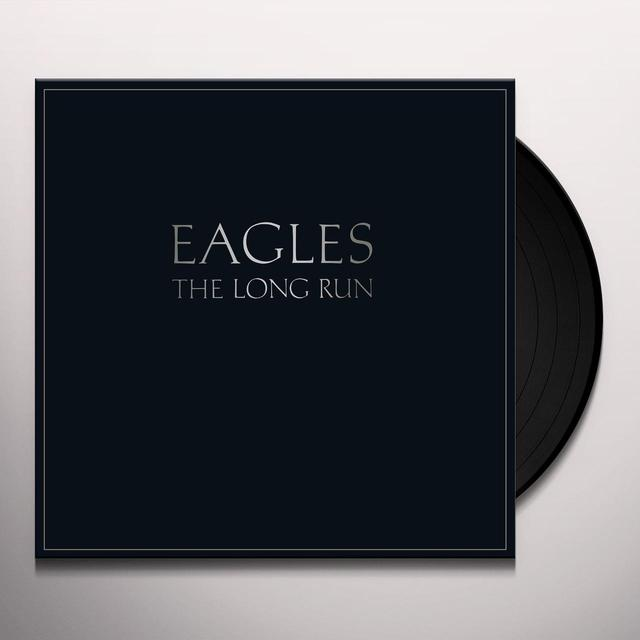 The Eagles and Glenn Frey LONG RUN Vinyl Record - UK Import