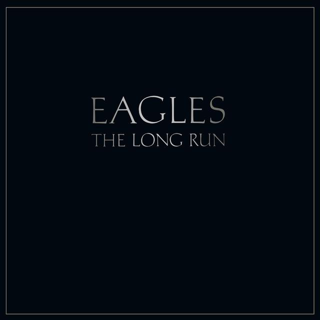 The Eagles and Glenn Frey LONG RUN Vinyl Record - UK Import
