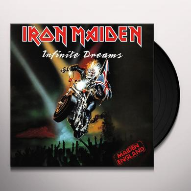 Iron Maiden INFINITE DREAMS (LIVE) Vinyl Record