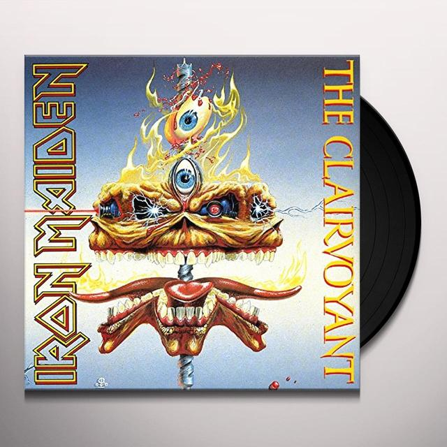 Iron Maiden CLAIRVOYANT Vinyl Record - UK Import