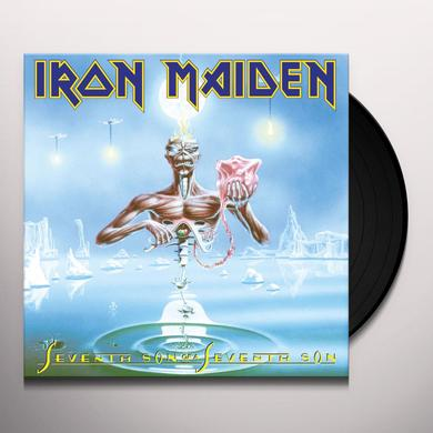Iron Maiden SEVENTH SON OF A SEVENTH SON Vinyl Record - UK Import