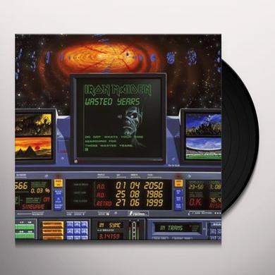 Iron Maiden WASTED YEARS Vinyl Record - UK Import