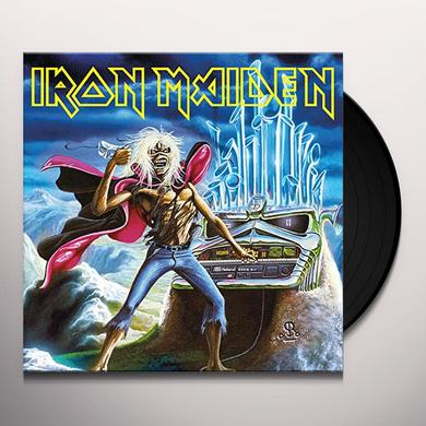 Iron Maiden RUN TO THE HILLS (LIVE) Vinyl Record