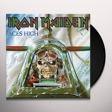 Iron Maiden ACES HIGH Vinyl Record - UK Import