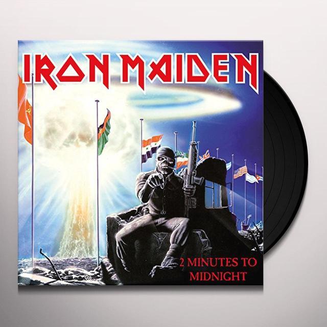 Iron Maiden 2 MINUTES TO MIDNIGHT Vinyl Record