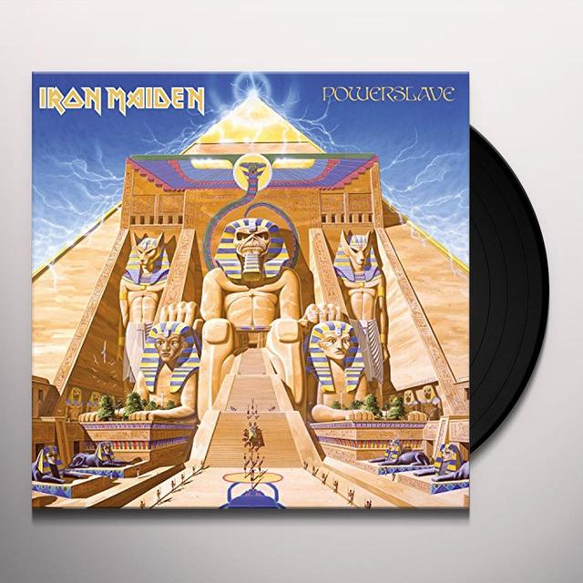 Iron Maiden POWERSLAVE Vinyl Record