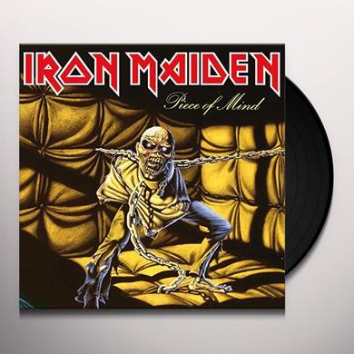Iron Maiden PIECE OF MIND Vinyl Record - UK Import