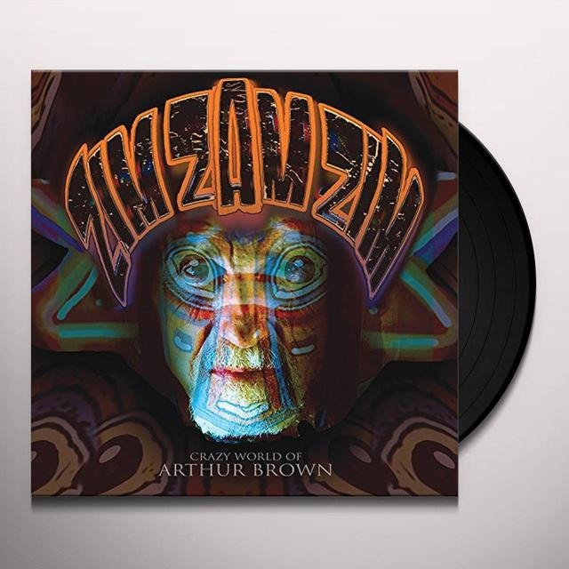 Crazy World Of Arthur Brown ZIM ZAM ZIM Vinyl Record - Digital Download Included