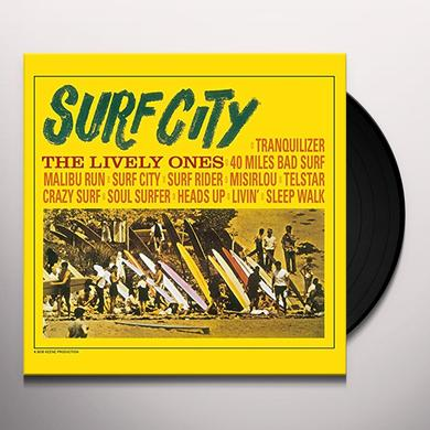 LIVELY ONES SURF CITY Vinyl Record