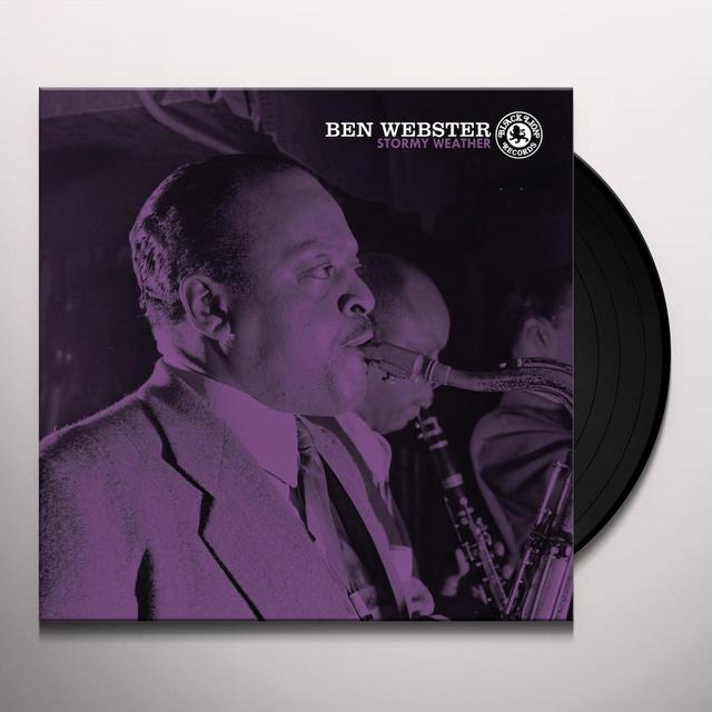 Ben Webster STORMY WEATHER Vinyl Record - Limited Edition