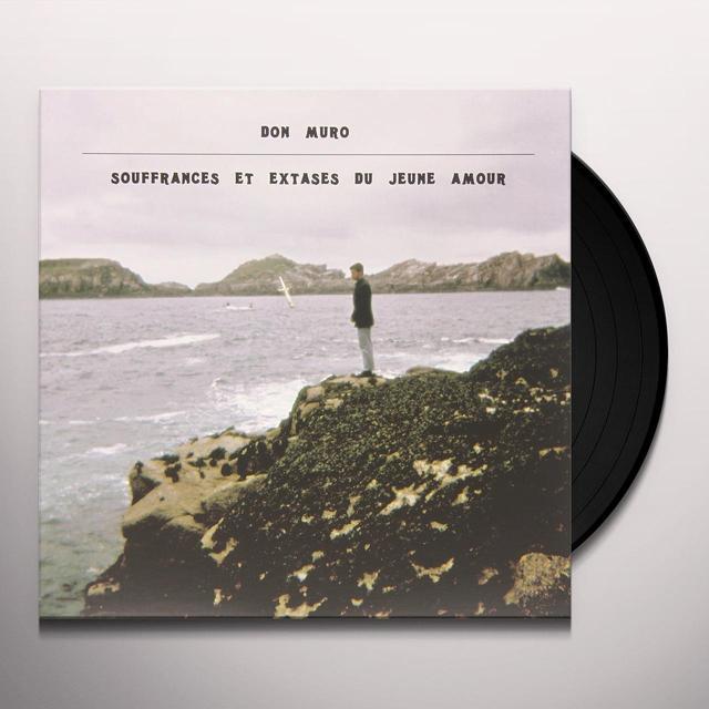 Don Muro SOUFFRANCES ET EXTASES DU JEUNE AMOUR Vinyl Record