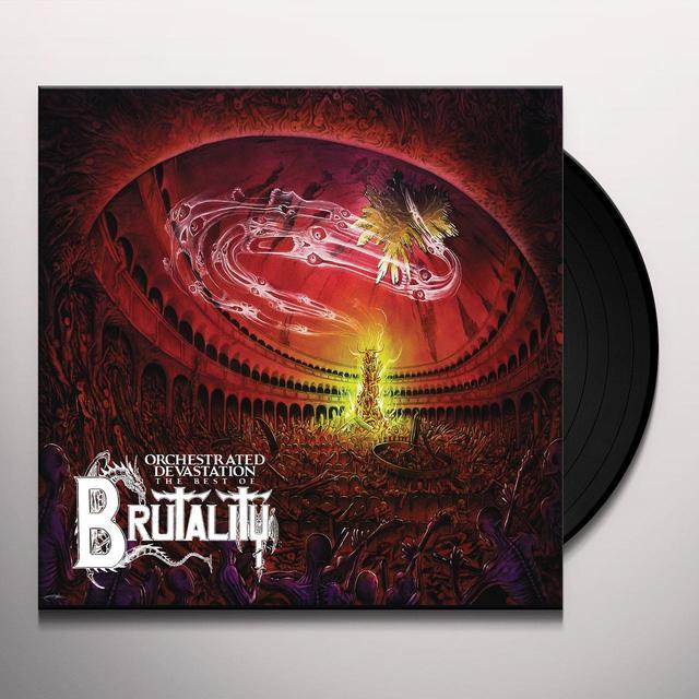 Brutality ORCHESTRATED DEVASTATION: BEST OF Vinyl Record