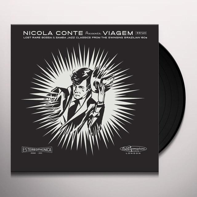 Nicola Conte VIAGEM V.3 Vinyl Record - 10 Inch Single