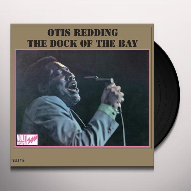 Otis Redding DOCK OF THE BAY Vinyl Record - 180 Gram Pressing, Mono