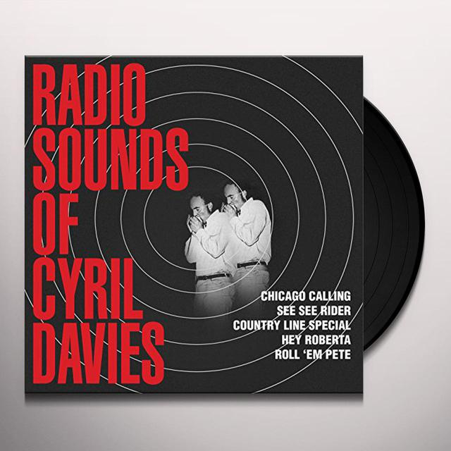 Cyril Davies & His Rhythm And Blues All Stars RADIO SOUNDS Vinyl Record