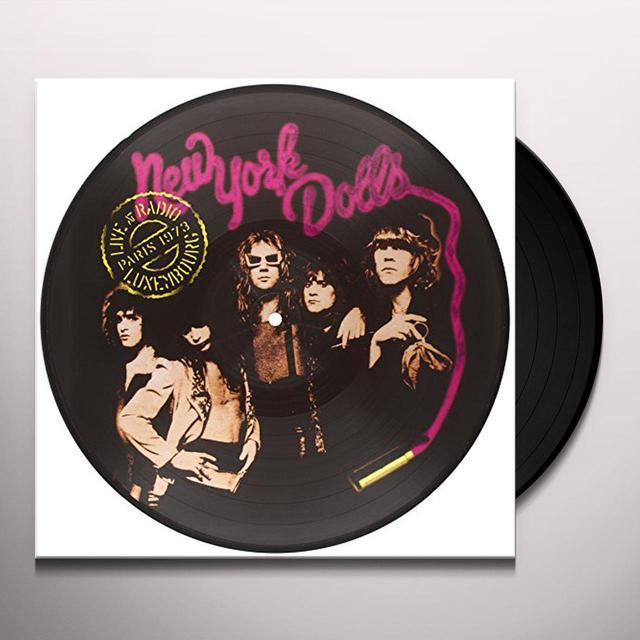 New York Dolls LIVE AT RADIO LUXEMBOURG PARIS 1973 Vinyl Record