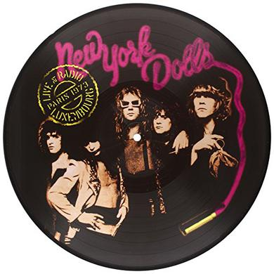 New York Dolls LIVE AT RADIO LUXEMBOURG PARIS 1973 Vinyl Record