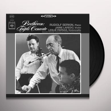 Beethoven / Rudolf Serkin TRIPLE CONCERTO Vinyl Record