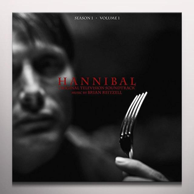 Brian Reitzell HANNIBAL: SEASON 1 VOL 1 / O.S.T. Vinyl Record - Colored Vinyl, Gatefold Sleeve