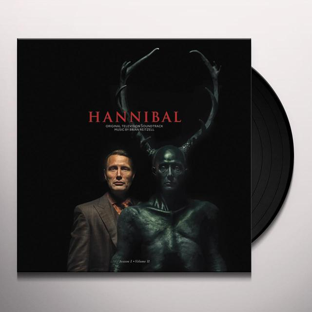 Brian Reitzell HANNIBAL: SEASON 1 VOL 2 / O.S.T. Vinyl Record - Digital Download Included, Gatefold Sleeve