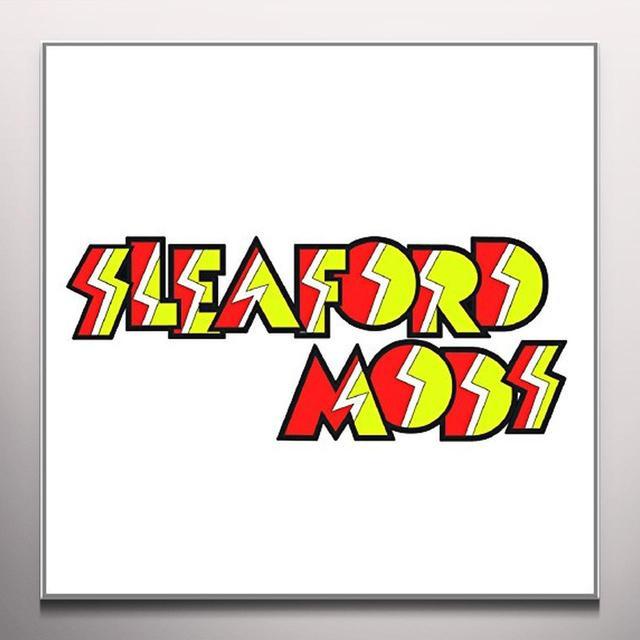 Sleaford Mods TISWAS Vinyl Record - Digital Download Included, Orange Vinyl, Colored Vinyl