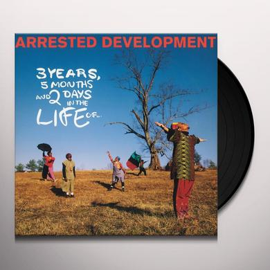 Arrested Development 3 YEARS 5 MONTHS & 2 DAYS Vinyl Record - Holland Import