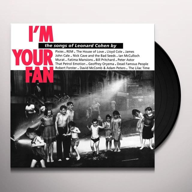 Leonard Cohen I'M YOUR FAN Vinyl Record - Holland Import