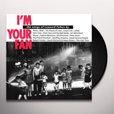 Leonard Cohen I'M YOUR FAN Vinyl Record - Holland Import
