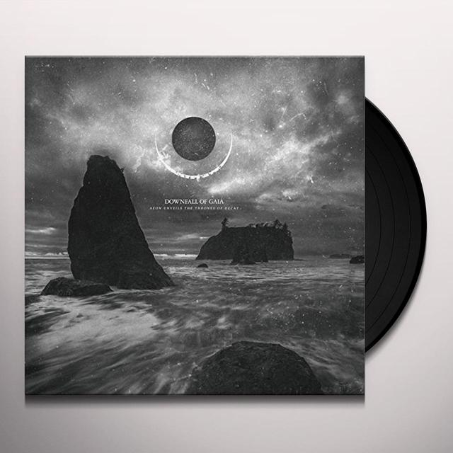 Downfall Of Gaia AEON UNVEILS THE THRONES OF DECAY Vinyl Record - Holland Import