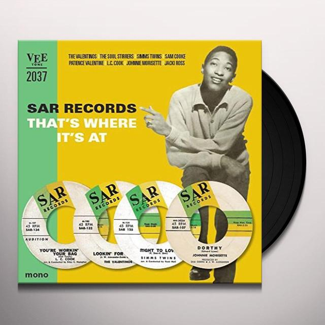 SAR RECORDS-THATS WHERE ITS AT / VARIOUS (UK) SAR RECORDS-THATS WHERE ITS AT / VARIOUS Vinyl Record