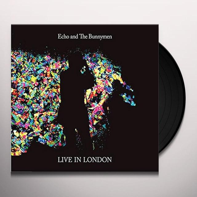 Echo & the Bunnymen LIVE IN LONDON Vinyl Record - UK Import