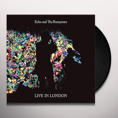 Echo & the Bunnymen LIVE IN LONDON Vinyl Record - UK Import