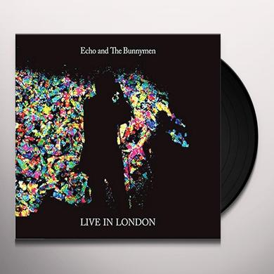 Echo & the Bunnymen LIVE IN LONDON Vinyl Record
