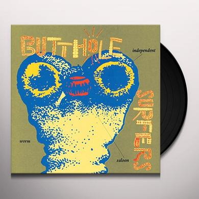 Butthole Surfers INDEPENDENT WORM SALOON Vinyl Record - 180 Gram Pressing