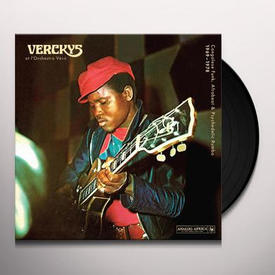 VERCKYS / ORCHESTRE VEVE CONGOLESE FUNK AFROBEAT & PSYCHEDELIC RUMBA 1969 Vinyl Record