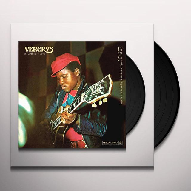 VERCKYS / ORCHESTRE VEVE CONGOLESE FUNK AFROBEAT & PSYCHEDELIC RUMBA 1969 Vinyl Record