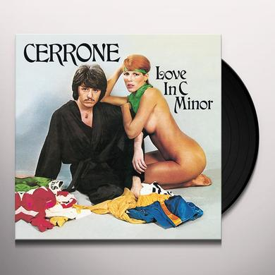 LOVE IN C MINOR (CERRONE I) Vinyl Record - w/CD
